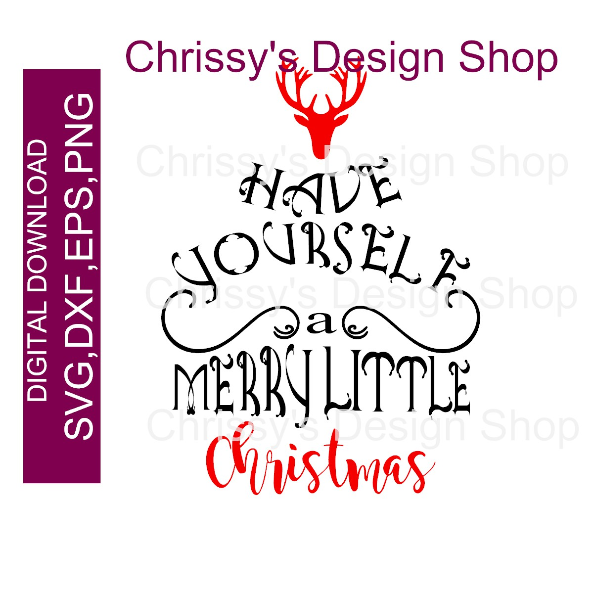 Have Yourself A Merry Little Christmas Svg.Have A Merry Little Christmas Svg Dxf Eps